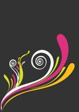 живое предпосылки красивейшее флористическое розовое Стоковые Изображения RF