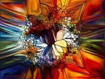 Живое цветное стекло Стоковые Фотографии RF