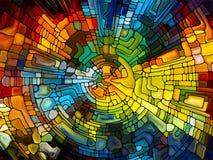 Живое цветное стекло Стоковое Изображение RF