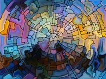 Живое цветное стекло Стоковые Изображения