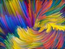 Живой вортекс цвета Стоковые Изображения