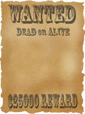 живой мертвый хотят плакат, котор Стоковая Фотография RF