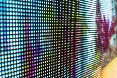 Живой покрашенный экран СИД smd Стоковое фото RF