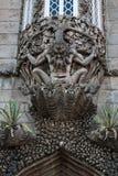 Живописание newt Дворец Pena национальный, Sintra, Португалия Стоковые Изображения