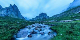 Живописная местность Nianbaoyezhe Стоковое Изображение RF