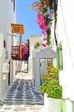 Живописное Mykonos Стоковое Изображение RF
