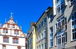 Живописные дома в Бамберге, Баварии, Германии Стоковое Изображение RF