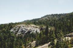 Живописные ландшафты осени национального парка Yosemite, США Стоковое фото RF