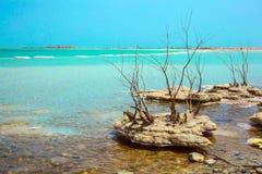 Живописные острова соли Стоковые Фотографии RF