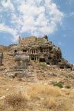 Живописные руины древнего города Стоковое Изображение