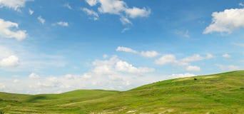 Живописные холмы стоковые изображения rf
