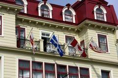 Живописный город Квебека стоковое изображение
