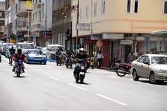 Живописный город Порт Луи в республике Маврикия Стоковые Изображения