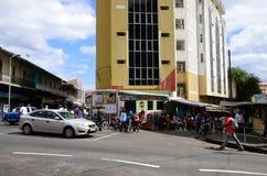 Живописный город Порт Луи в республике Маврикия Стоковая Фотография RF