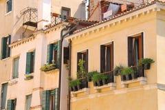 Живописный итальянский дом Стоковые Изображения