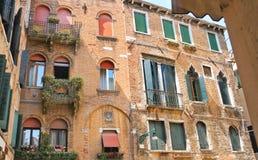 Живописный итальянский дом Стоковая Фотография RF