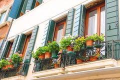 Живописный итальянский дом Стоковое Изображение RF