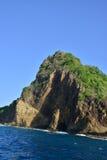 Живописный остров Сент-Люсия в Вест-Индиях стоковое изображение rf