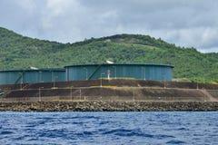 Живописный остров Сент-Люсия в Вест-Индиях стоковая фотография rf