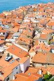 Живописный старый городок Piran, Словения Стоковые Фото