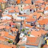 Живописный старый городок Piran, Словения Стоковые Изображения