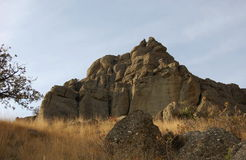 Живописный утес песчаника Стоковая Фотография