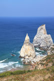 2 живописных скалы белого песчаника Стоковые Изображения