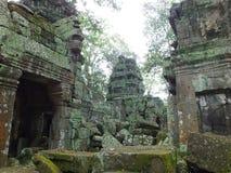 Животики Prohm (Rajavihara), висок на Angkor, провинции, Камбодже Стоковое Изображение