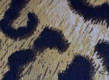 Животная печать на ткани стоковая фотография rf