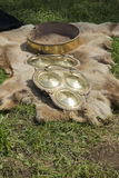 животная польза текстуры шерсти предпосылки Стоковые Фотографии RF