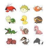 Животное установило 1 Стоковые Изображения