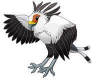 Животное шаржа - едок змейки - карикатура бесплатная иллюстрация