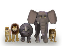 Животные Африки Стоковое Фото