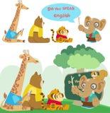 Животные в классе бесплатная иллюстрация