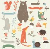 Животные леса Стоковая Фотография