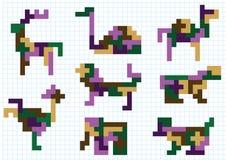 Животные диаграмм иллюстрация вектора