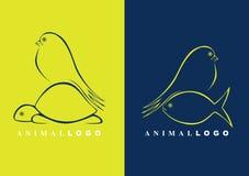 животные логосы Стоковое фото RF
