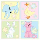 животные милые Стоковые Фотографии RF
