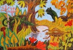 Животные на весне леса Стоковые Изображения