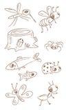 животные немногая Стоковое Изображение RF