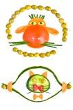 животные овощи Стоковое Изображение