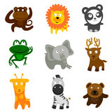животные одичалые иллюстрация вектора