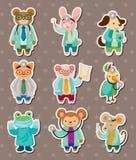 Животные стикеры доктора Стоковая Фотография RF