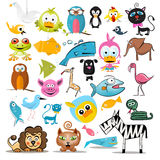 животные установили Собрание животного вектора бесплатная иллюстрация
