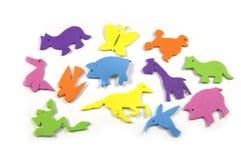 животные цветастые Стоковое Изображение RF