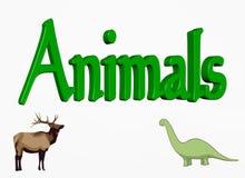 животные иллюстрация вектора