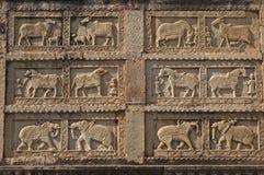 животные carvings затейливые Стоковая Фотография RF