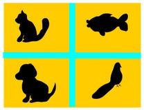животный вектор Стоковое Изображение RF