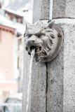 Животный головной фонтан Стоковые Фото