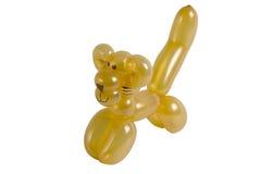животный изолированный кот воздушного шара Стоковые Изображения